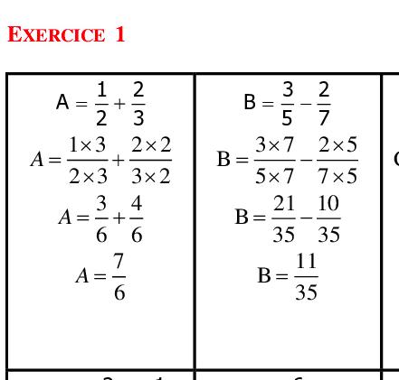 Corrigé DM maths